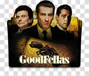 Robert De Niro Movies Folder Icon , Goodfellas_256x256 PNG clipart