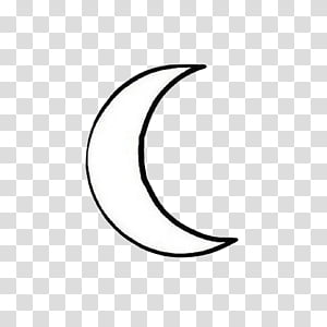White Moon Illustration Png Clipart Clipartsky