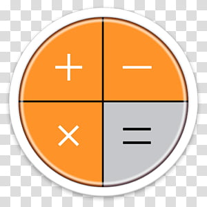 ORB OS X Icon, calculator icon PNG