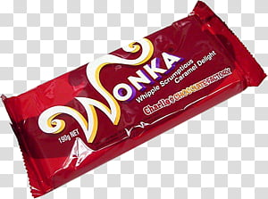 Wonka chocolate pack PNG clipart