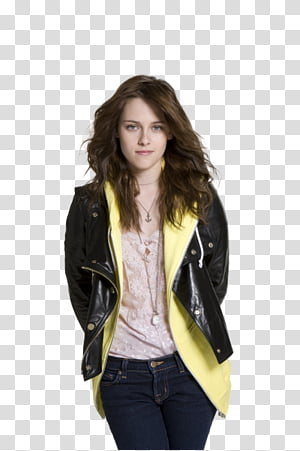 Kristen Stewart, woman standing while smiling PNG clipart