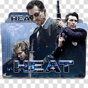 Robert De Niro Movies Folder Icon , Heat PNG clipart