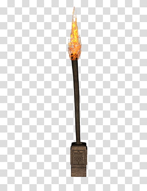 Object, fire torch PNG clipart