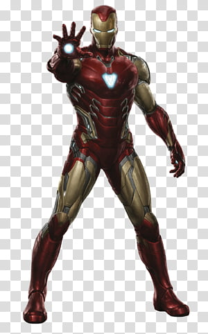 Avengers Endgame Iron Man Mark-85, Iron-Man PNG