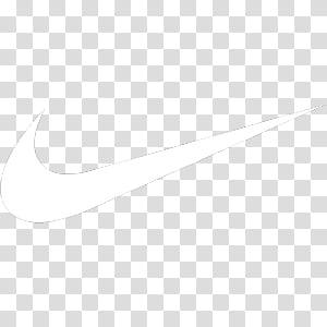 Light Dock Icons, nike, white Nike logo PNG clipart