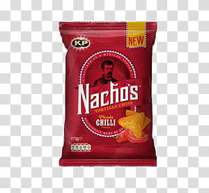 Nachos food pack PNG clipart