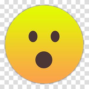 Emojis Smileys, geoefneter-mund icon PNG clipart