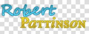 texto Robert Pattinson PNG clipart
