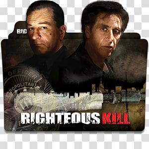 Robert De Niro Movies Folder Icon , Righteous Kill PNG clipart