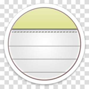 ORB OS X Icon, note file icon PNG
