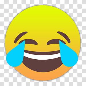 Emojis Smileys, Freundentränen icon PNG clipart