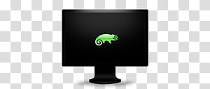 OS Monitors 9 OS, chameleon icon PNG