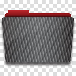 Carbon Fiber Mac OS Icon Set, folder PNG