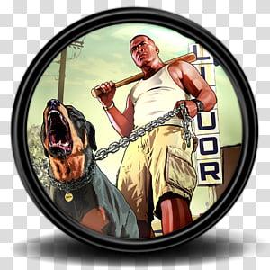 Grand Theft Auto V Game Icon, GTA 5_12, GTA V PNG