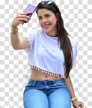 Nicolle Principe, woman taking selfie PNG clipart