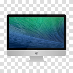 OS X Mavericks icons, iMac PNG