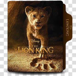 The Lion King 2019 Folder Icon, The Lion King 2019 v1 PNG