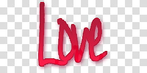 Love signage PNG clipart