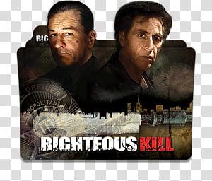 Robert De Niro Movies Folder Icon , Righteous Kill_256x256 PNG clipart