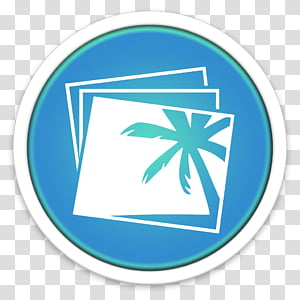 ORB OS X Icon, palm tree PNG