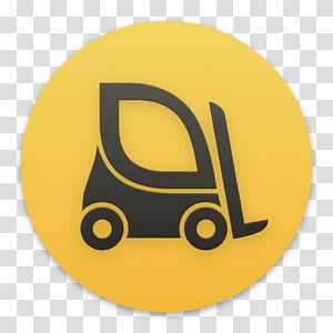 Clay OS 6 A macOS Icon, ForkLift, gray forklift icon PNG clipart