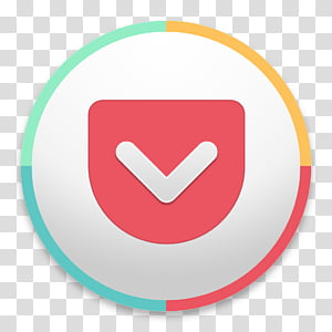 OS X Yosemite Pokect, round white,red, and green check icon PNG
