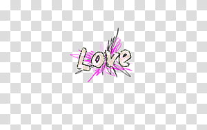 Text, love text overlay PNG clipart