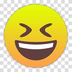 Emojis Smileys, zugekniffene-augen icon PNG clipart