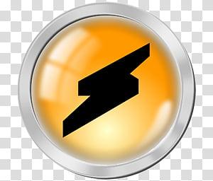 OD Orange Dock icons, winamp PNG