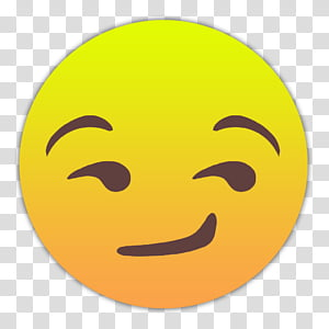 Emojis Smileys, Zwinkernd icon PNG clipart