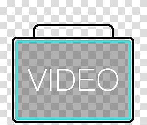 BigContainer dock icons, VIDEO, video folder icon PNG