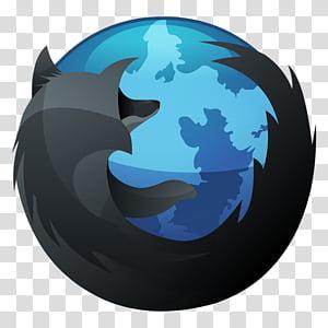 HydroPRO HP Dock Icon Set, HP-Firefox-Dock-Inverse-512 PNG