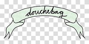 Banner s, douchebag banner illustration PNG clipart