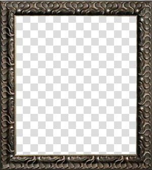 FRAMES, gray frame PNG clipart