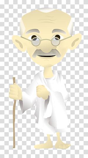 Mahatma Gandhi. PNG clipart