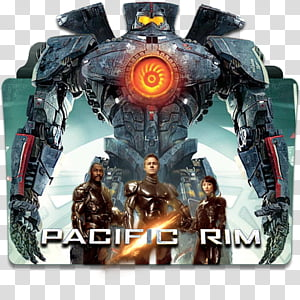 Movie Collection Folder Icon Part 3, Pacific Rim, Pacific Rim folder icon PNG