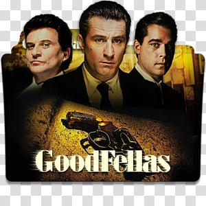 Robert De Niro Movies Folder Icon , Goodfellas PNG clipart