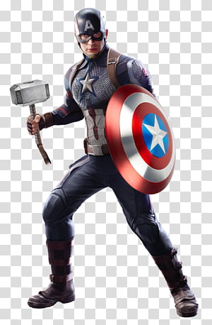 Worthy Captain America , Avengers Endgame PNG clipart