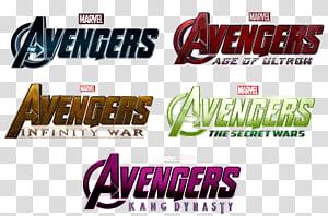AVENGERS LOGOS, Avengers text PNG clipart