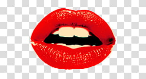Miscellaneous s, red lips PNG