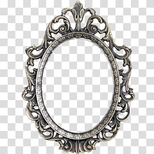 Resources Mega 5k, oval ornate metal frame PNG clipart