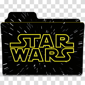 Star Wars Collection Folder Icon, Star Wars Folder Icon PNG