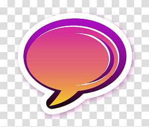 Razz icons for docks, googletalk, speech cloud PNG clipart