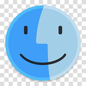 Button UI System Icons, Finder1, Mac OS logo PNG