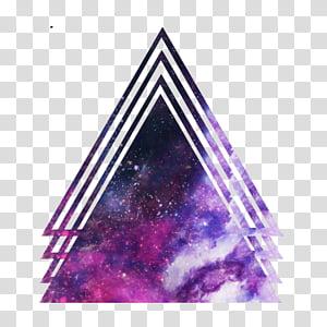 Galaxy Shapes, purple cosmic galaxy PNG