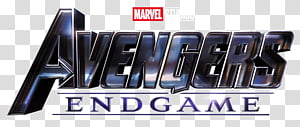 Avengers Endgame 2019 logo, Marvel Avengers End Game PNG