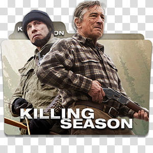 Robert De Niro Movies Folder Icon , Killing Season PNG clipart