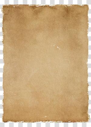 Vintage Paper , brown paper PNG