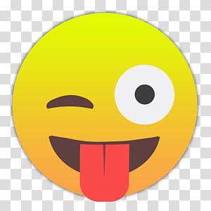 Emojis Smileys, herausgestreckter-zunge1 icon PNG clipart