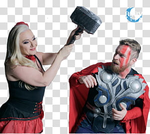 Luba Tv, man in Thor costume PNG clipart